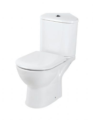 Eastbrook Kompact Corner Toilet & Soft Close Toilet Seat Inc Fittings